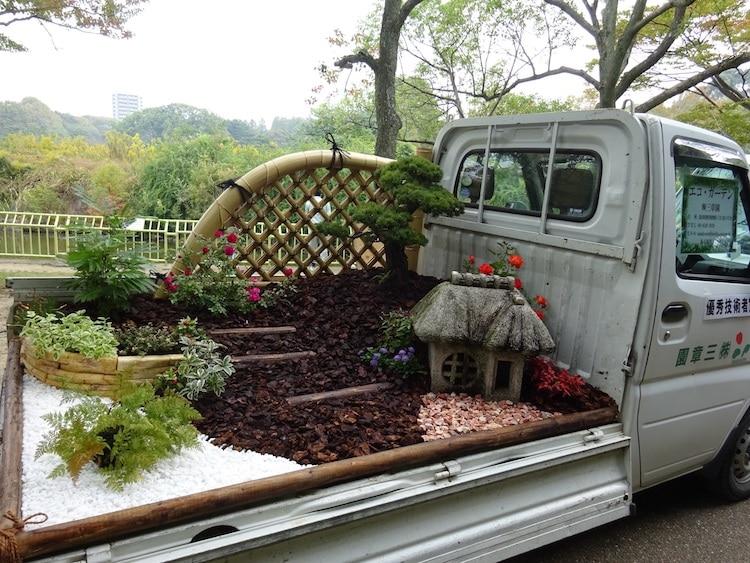 khu vườn xe tải 4