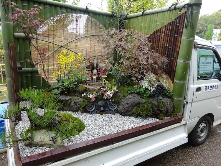 khu vườn xe tải 6