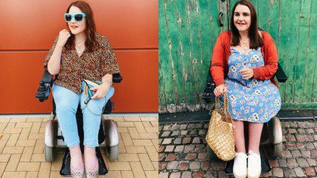 Nữ blogger người Anh truyền cảm hứng thời trang đến người khuyết tật
