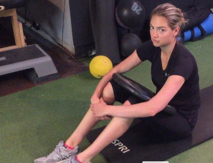 bài tập thể dục Kate Upton 4