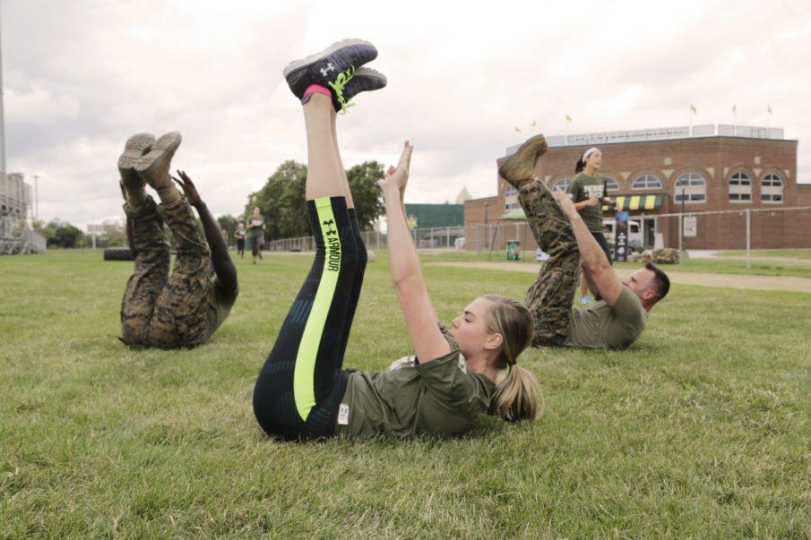 bài tập thể dục Kate Upton 5