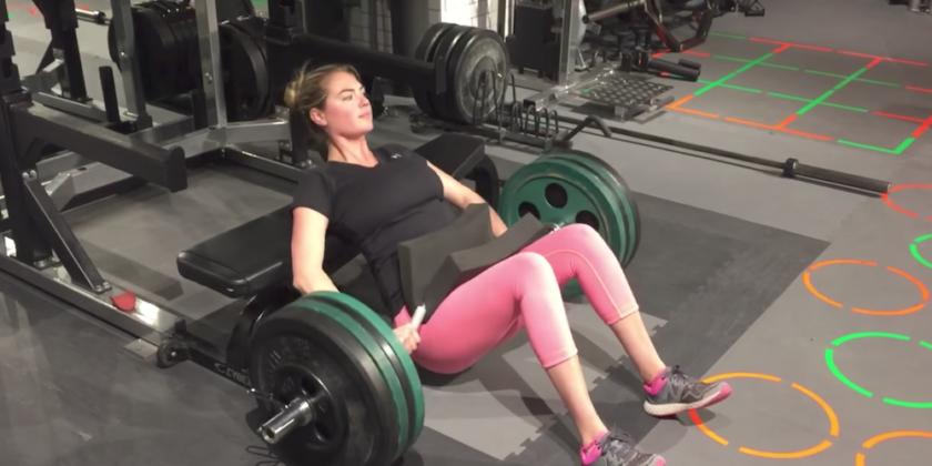 bài tập thể dục Kate Upton 6