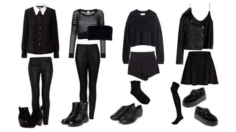 Cách diện trang phục màu đen cho phái đẹp trong những ngày hè rực nắng |  ELLE