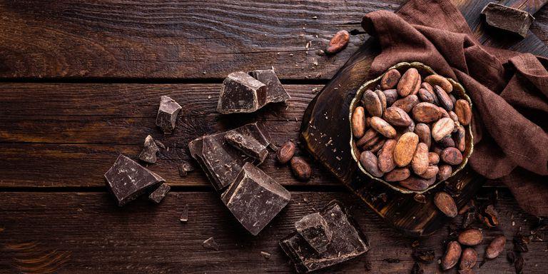 tâm trạng vui chocolate den YelenaYemchuk