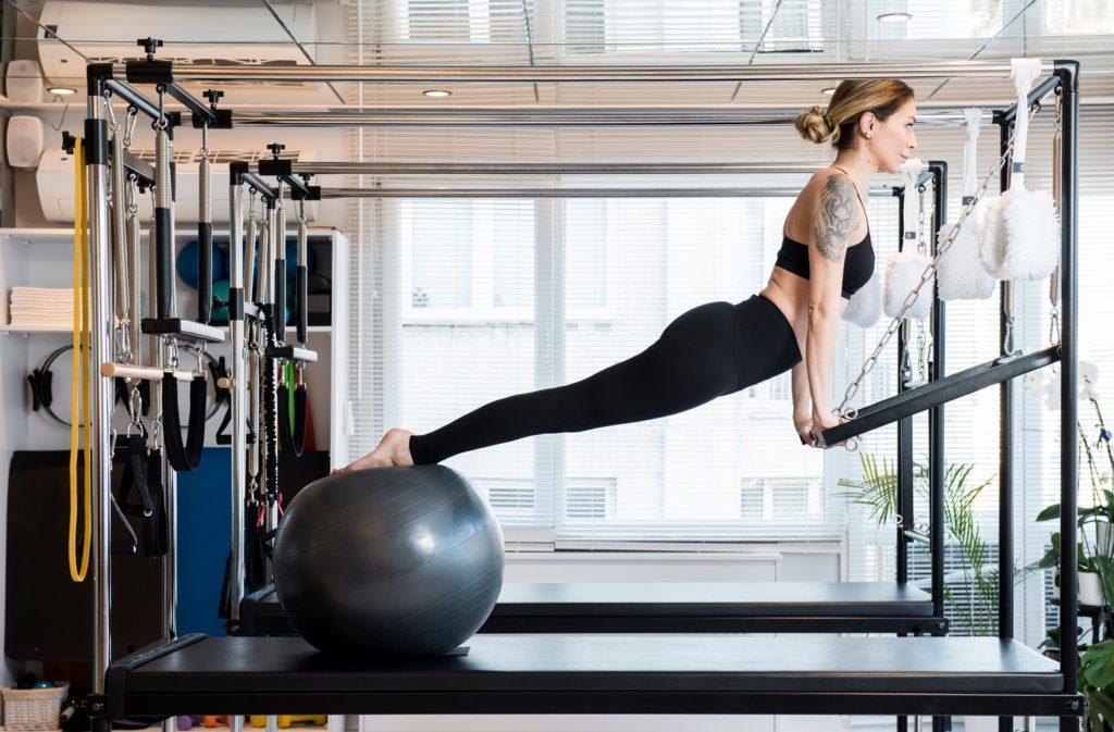 bài tập thể dục pilates