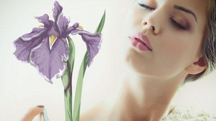 Nước hoa hương hoa diên vĩ - Biểu tượng của sự tinh khôi