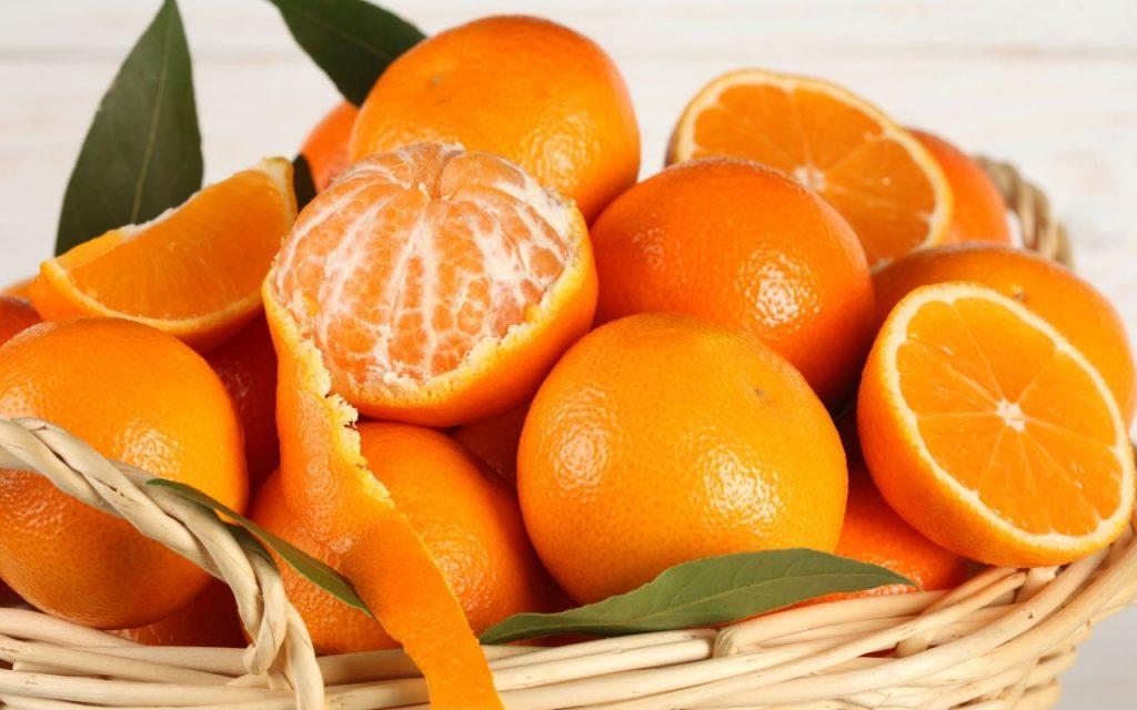 thực phẩm tốt cho mắt quả cam