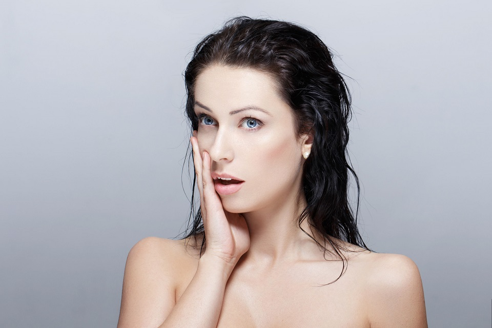 cách trị gàu tóc ướt