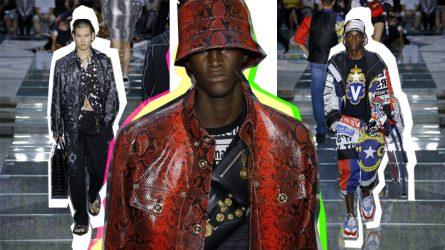 BST thời trang nam Xuân – Hè 2018 Versace: Thách thức định nghĩa về vẻ đẹp nam tính