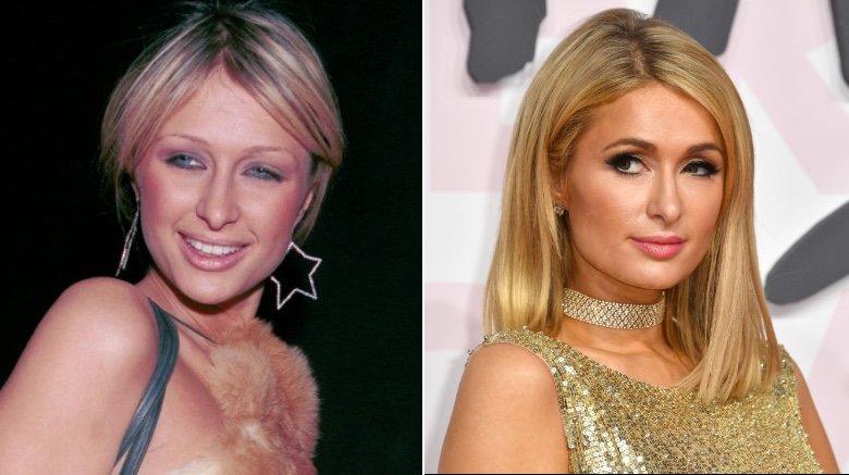 dáng lông mày Paris Hilton