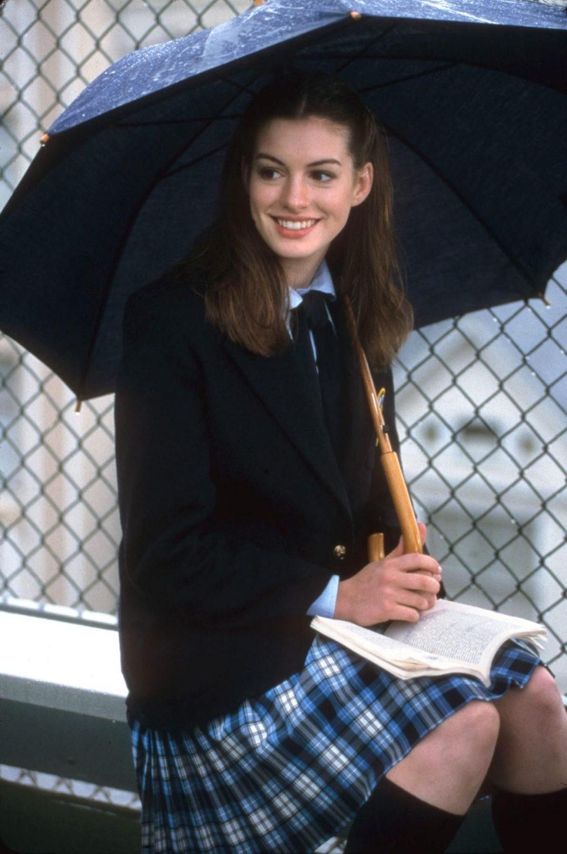 kiểu tóc đẹp Anne Hathaway 2 getty images