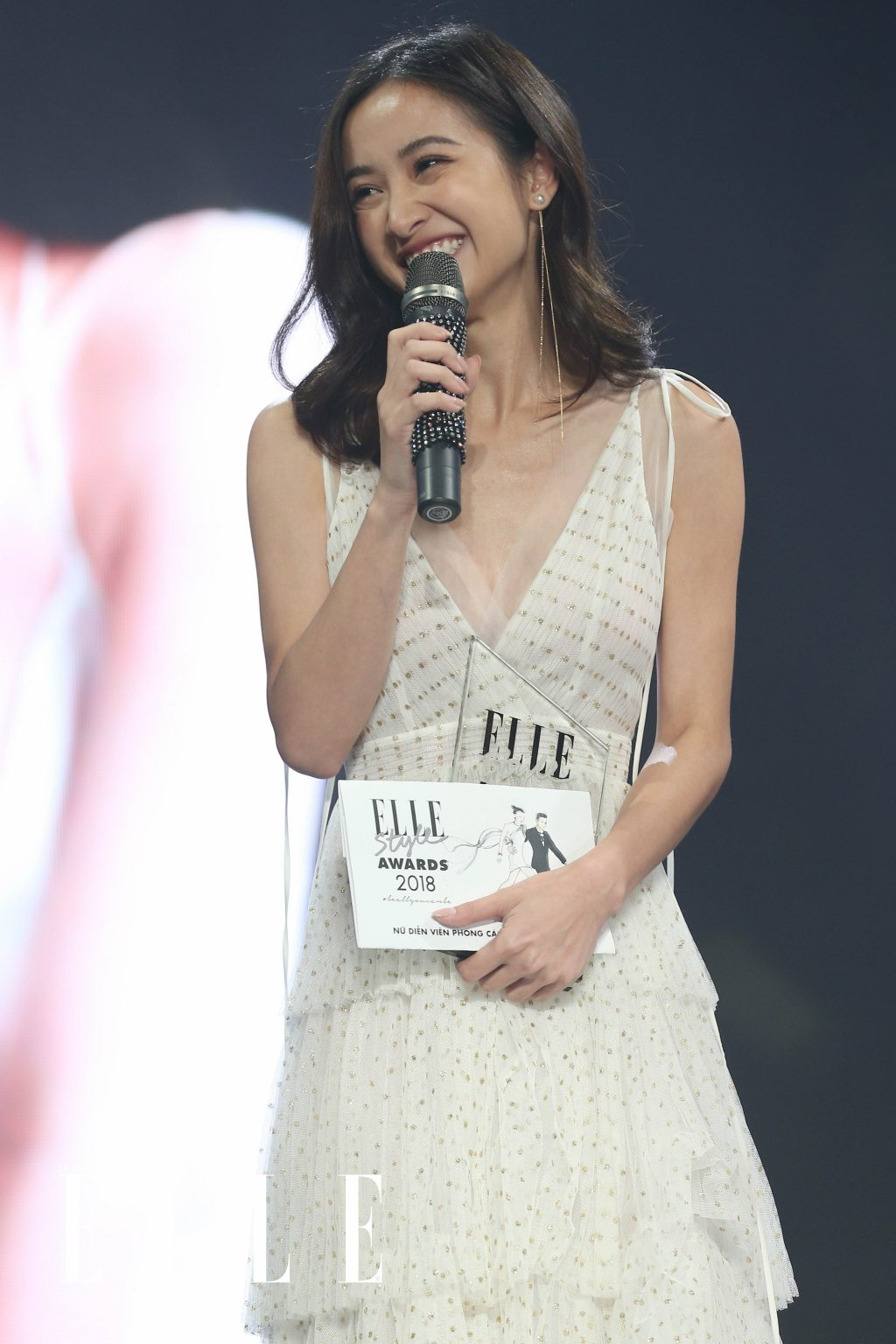 ELLE Style Awards 2018 jun vũ nhận giải