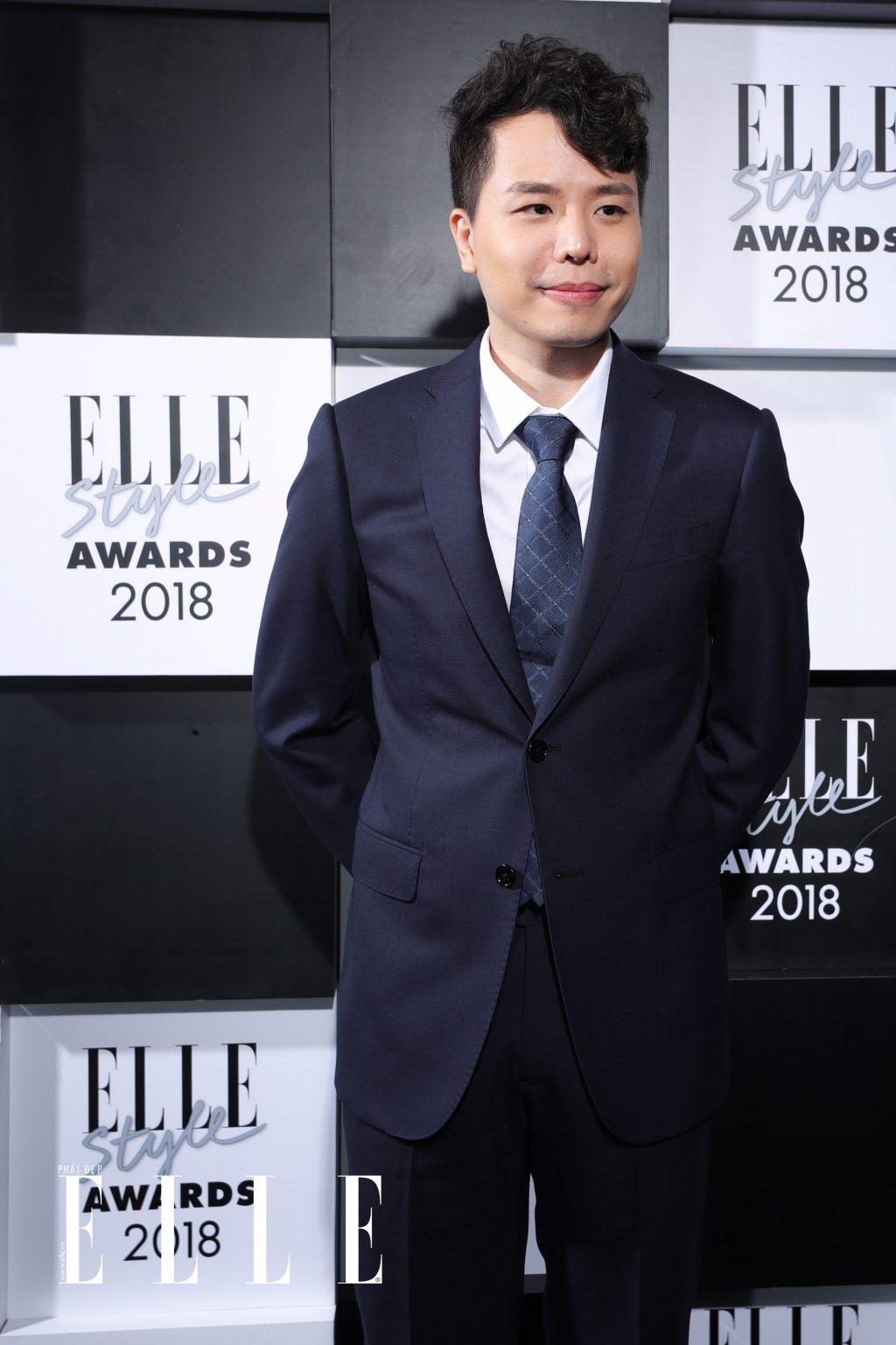 elle style awards 2018trịnh thăng bình