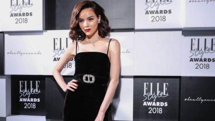 Hồ Ngọc Hà vinh dự nhận giải Hình tượng thời trang của năm tại ELLE Style Awards 2018