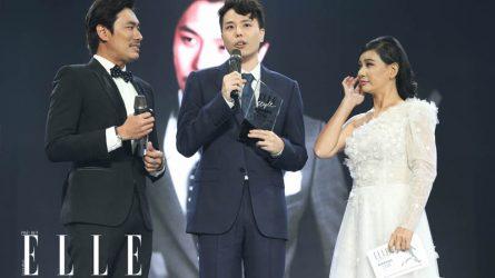 Trịnh Thăng Bình đoạt giải Nam diễn viên phong cách nhất của năm tại ELLE Style Awards 2018