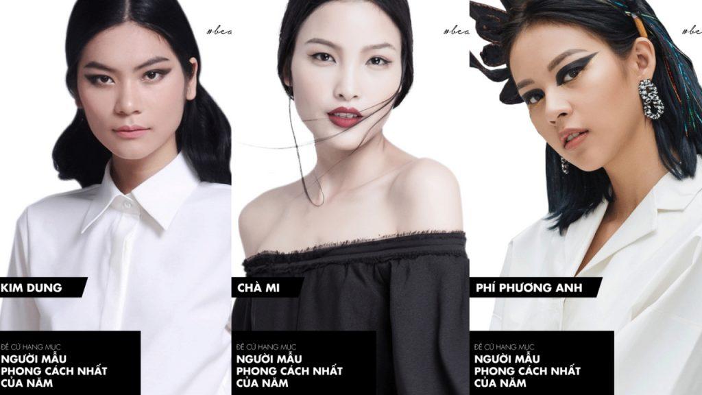 nguoi mau elle style awards 2018 - elle vietnam
