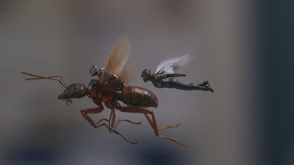 Người Kiến và Chiến Binh Ong 3