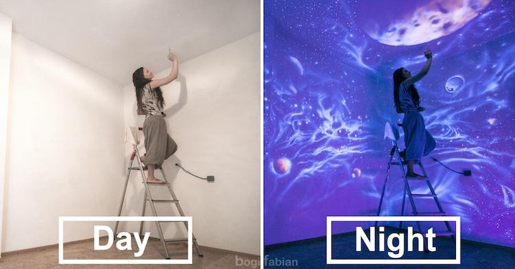 nghệ thuật trên tường 2