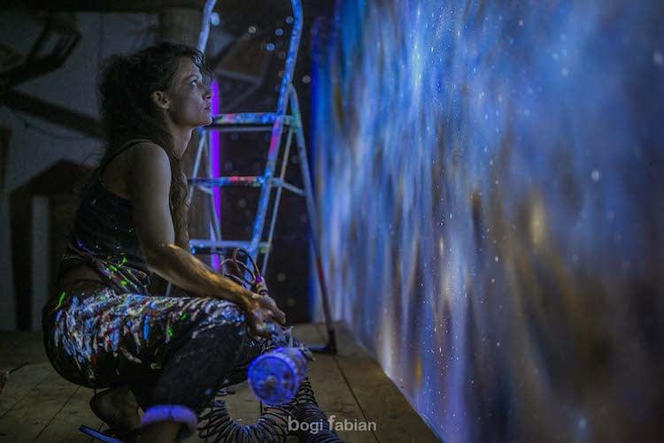 nghệ thuật trên tường 5