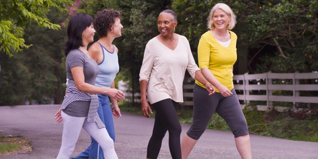 bài tập thể dục đi bộ Huffington Post