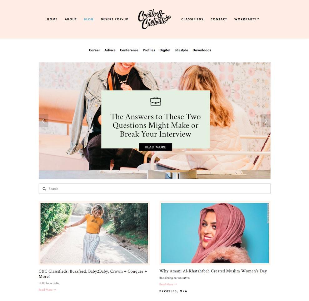 website phụ nữ 4