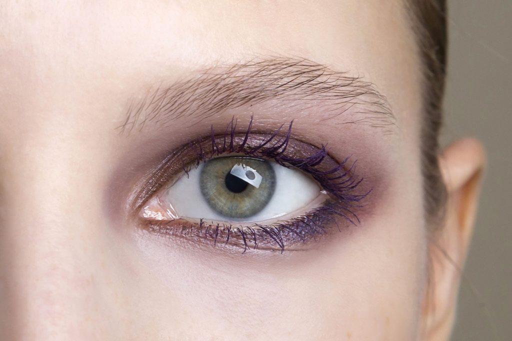màu chì kẻ mắt purple