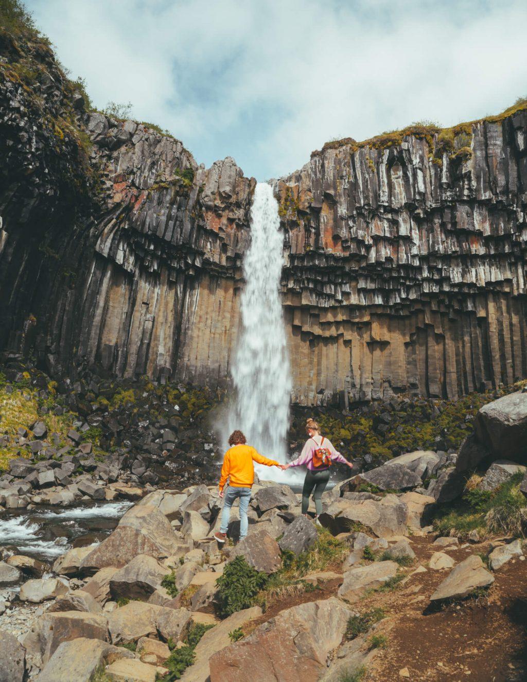 thác nước ở Iceland 4