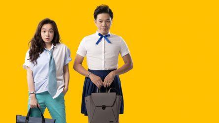 Thái Hòa & Kaity Nguyễn hóa cha con