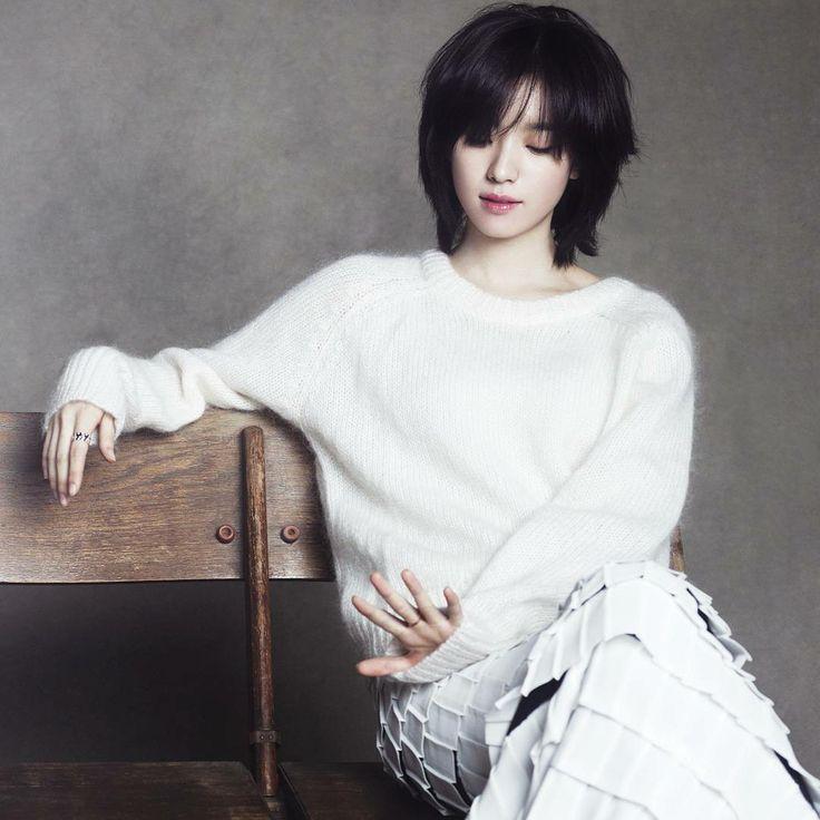 diễn viên han hyo joo tóc ngắn