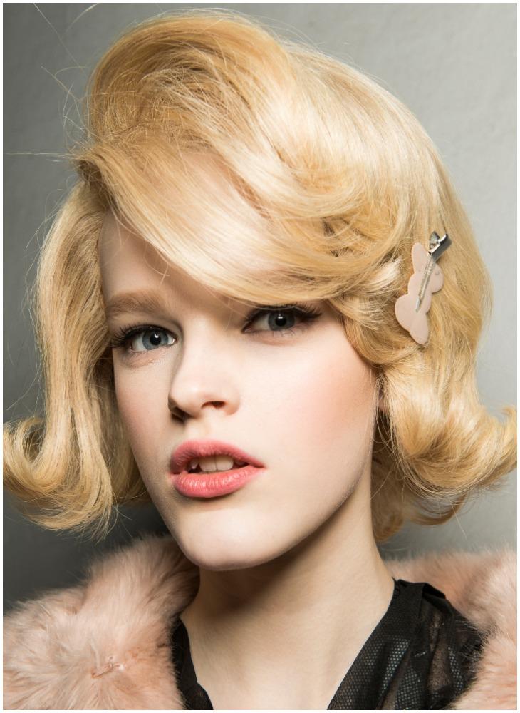 tạo kiểu tóc moschino 4
