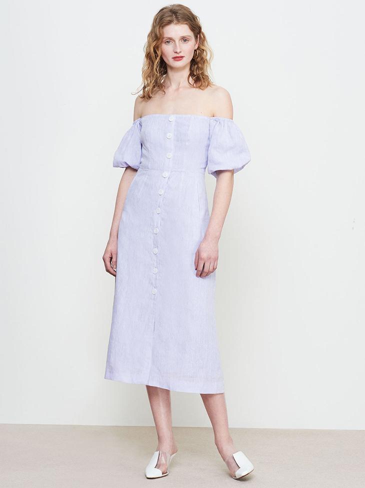 trang phục vải lanh 11