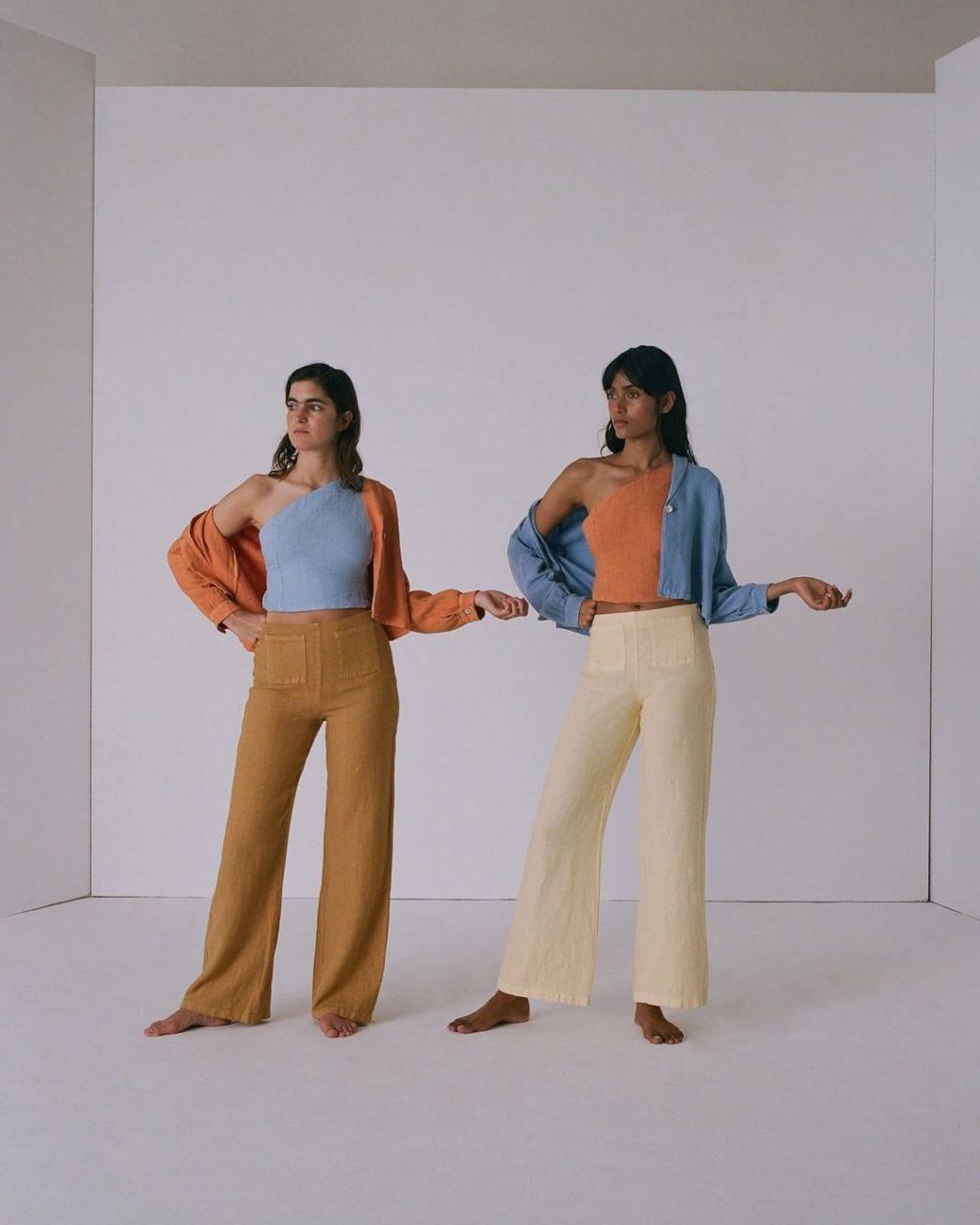 trang phục vải lanh 12