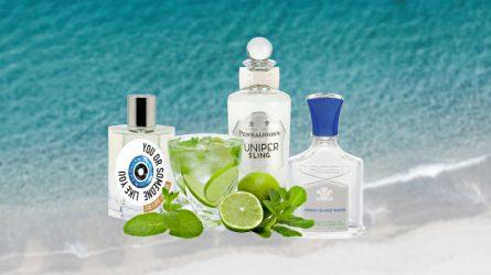 Nước hoa mùa Hè - Nước hoa mang phong vị cocktail bên bờ biển xanh