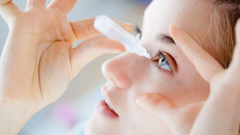 Bảo vệ mắt thuốc nhỏ mắt
