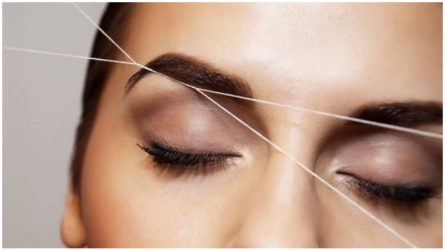Nhổ lông mày bằng chỉ - Phương pháp tạo dáng lông mày ít đau đớn