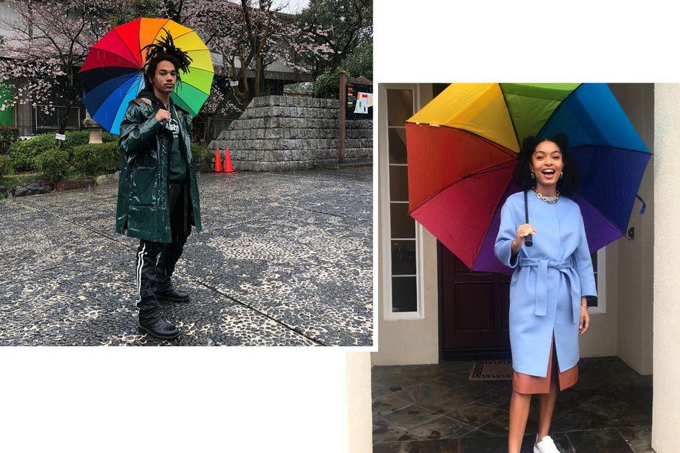 phong cách phối đồ ngày mưa 16