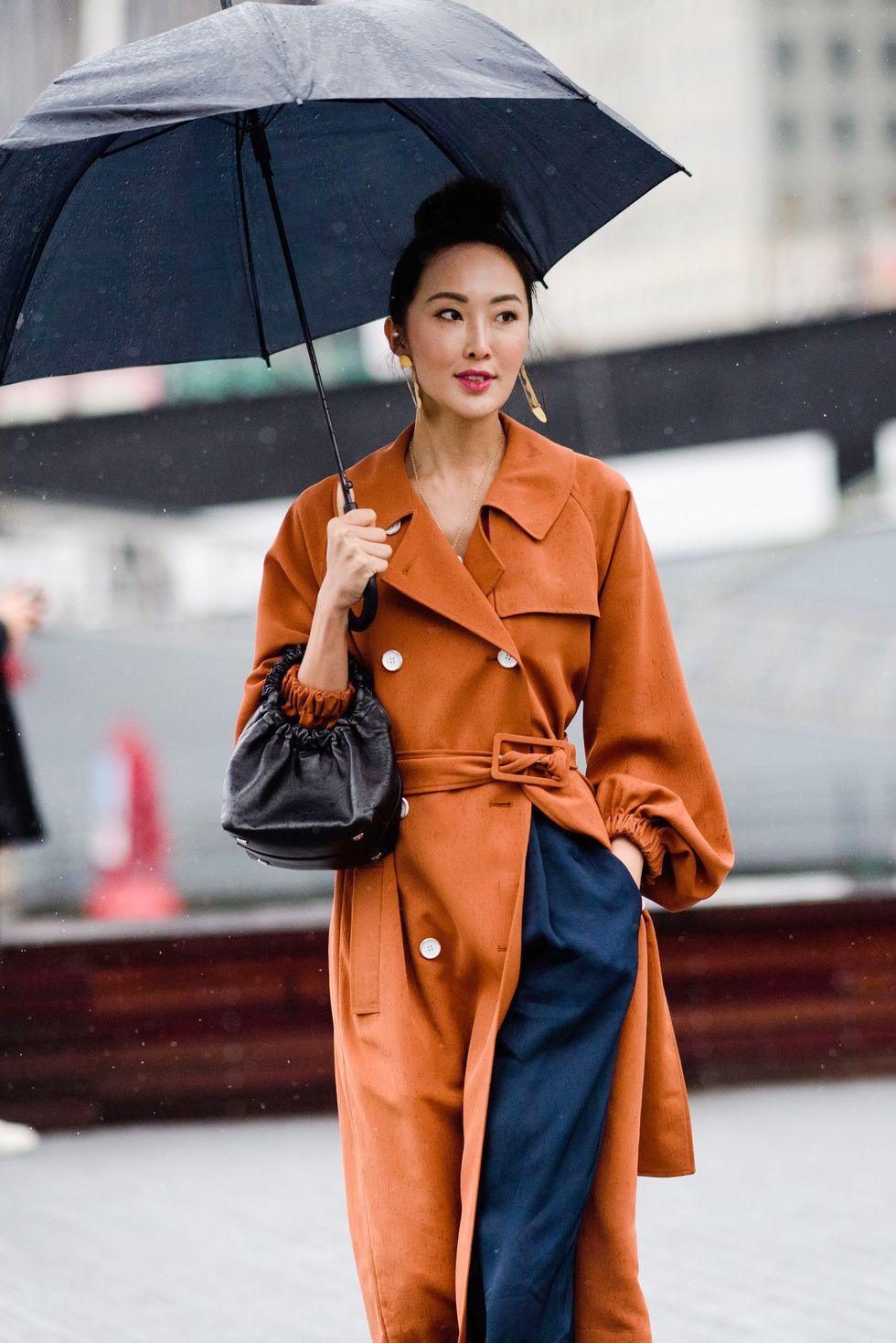 phong cách phối đồ ngày mưa 2