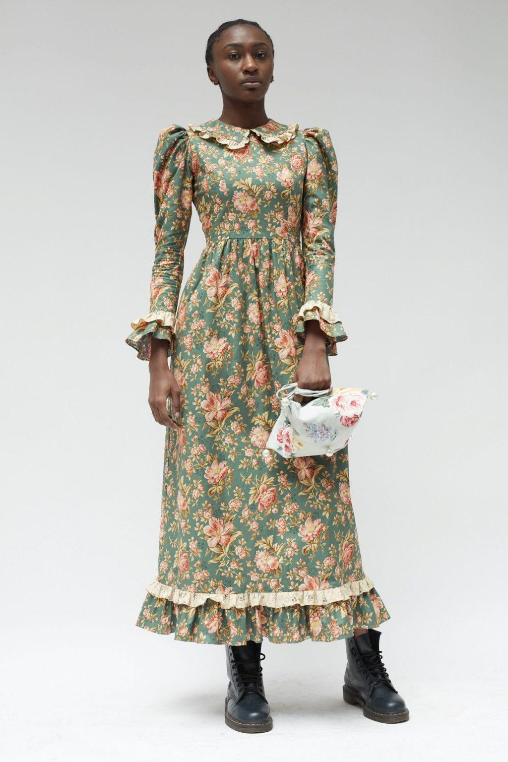 xu hướng váy đồng cỏ 2