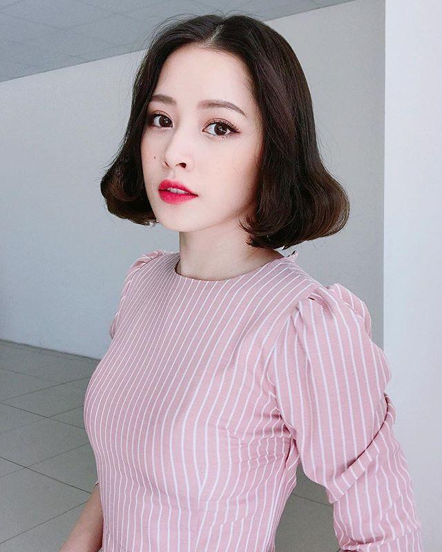 Kiểu tóc ngắn Chi Pu 1