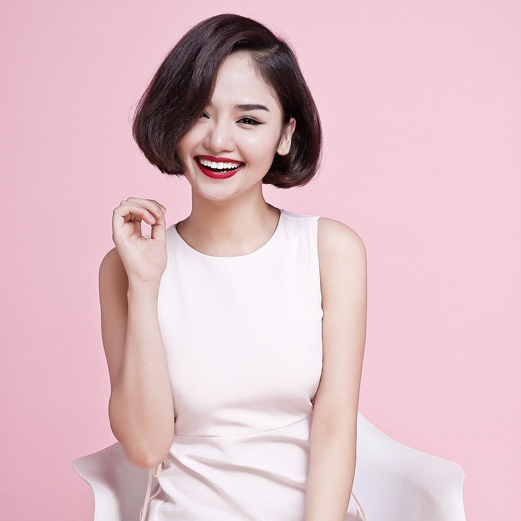 Kiểu tóc ngắn Miu Lê 1
