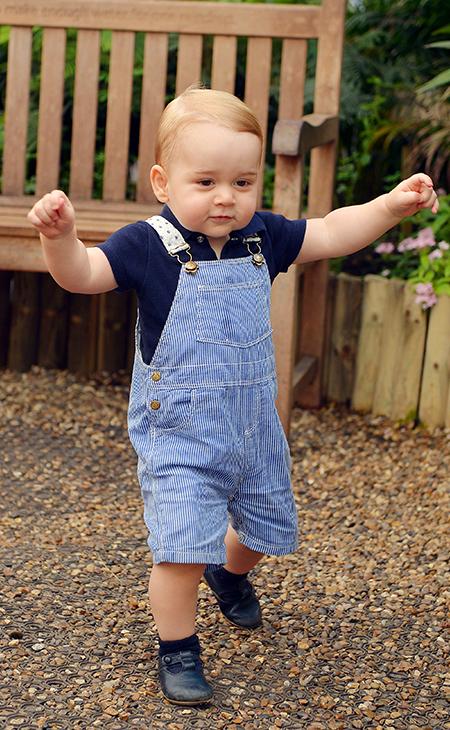 thời trang hoàng tử George 1