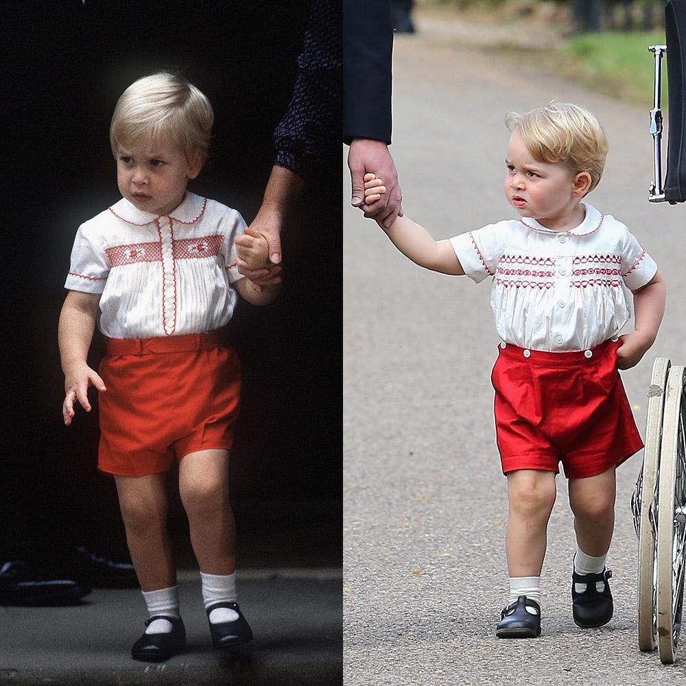 thời trang hoàng tử George 2