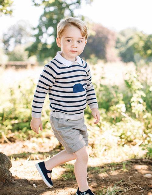 thời trang hoàng tử George 3