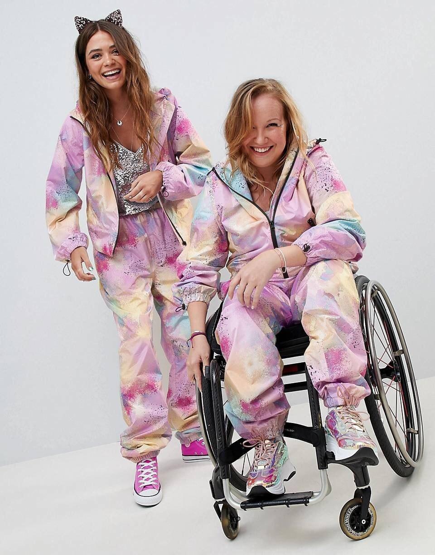người mẫu khuyết tật trong các chiến dịch quảng bá thời trang 3