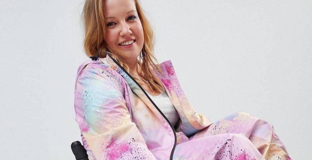 người mẫu khuyết tật trong các chiến dịch quảng bá thời trang