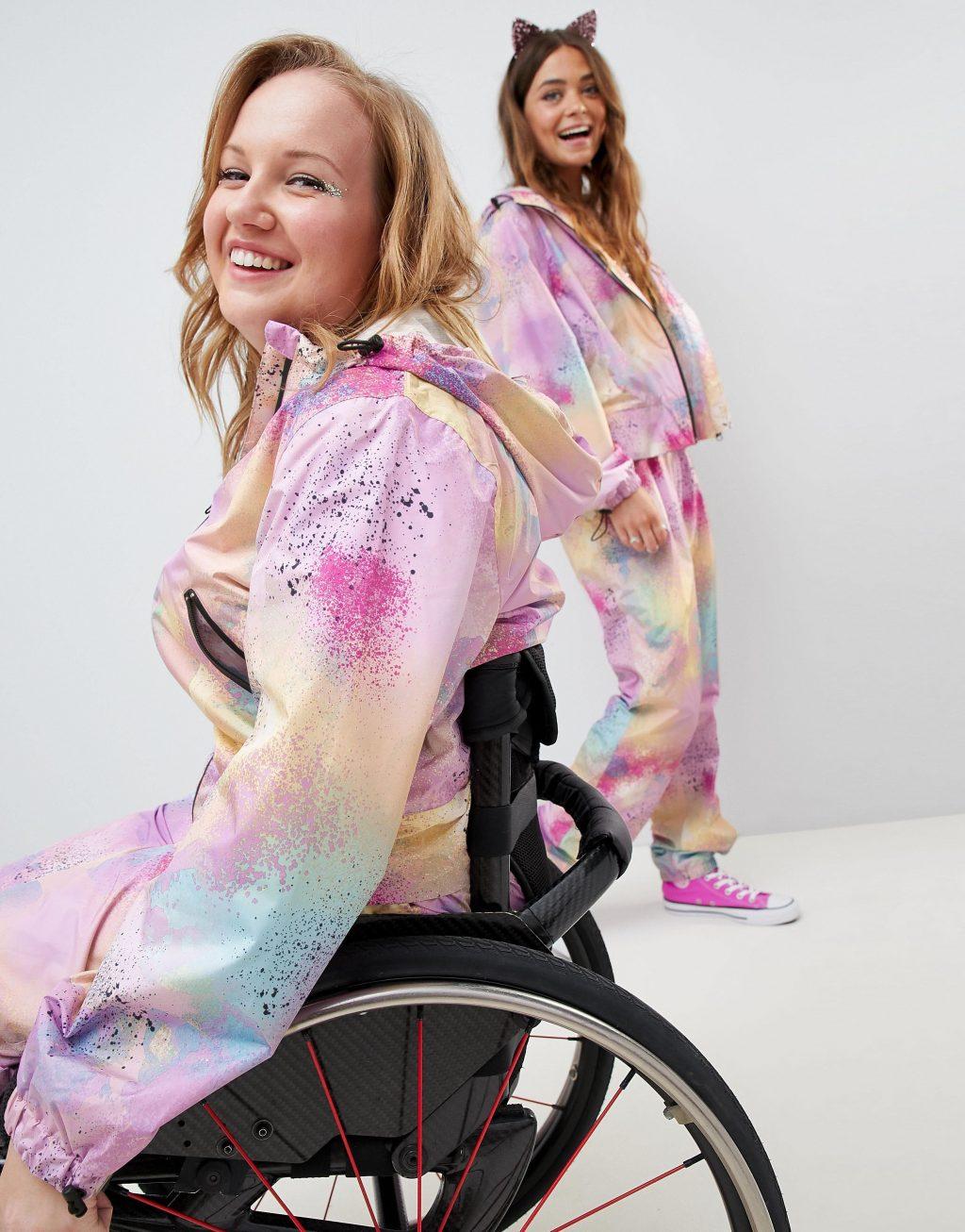 người mẫu khuyết tật trong các chiến dịch quảng bá thời trang 2