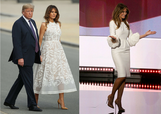 phong cách thời trang đầm trắng cổ điển 13
