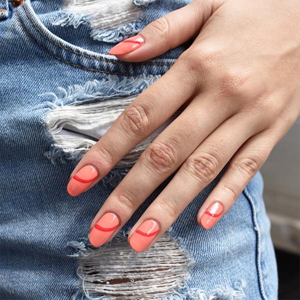 sơn móng tay hè 7