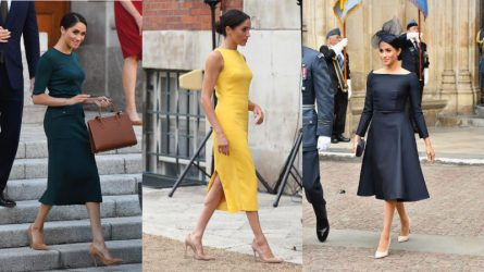 Những lần công nương Meghan phá vỡ quy tắc trang phục Hoàng gia Anh