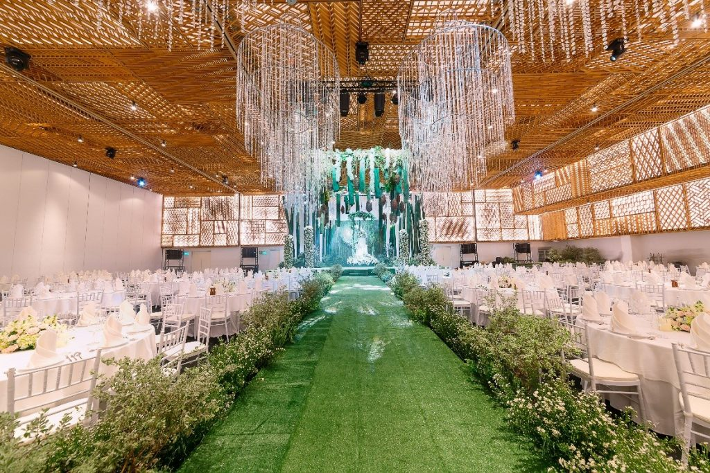 trang trí tiệc cưới gem center - 01